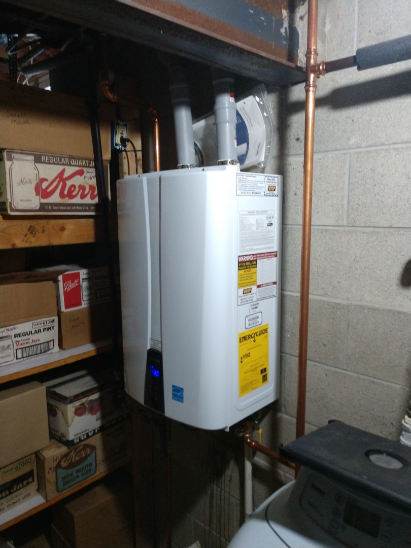 Memphis, MI - Tankless water heater maintenance