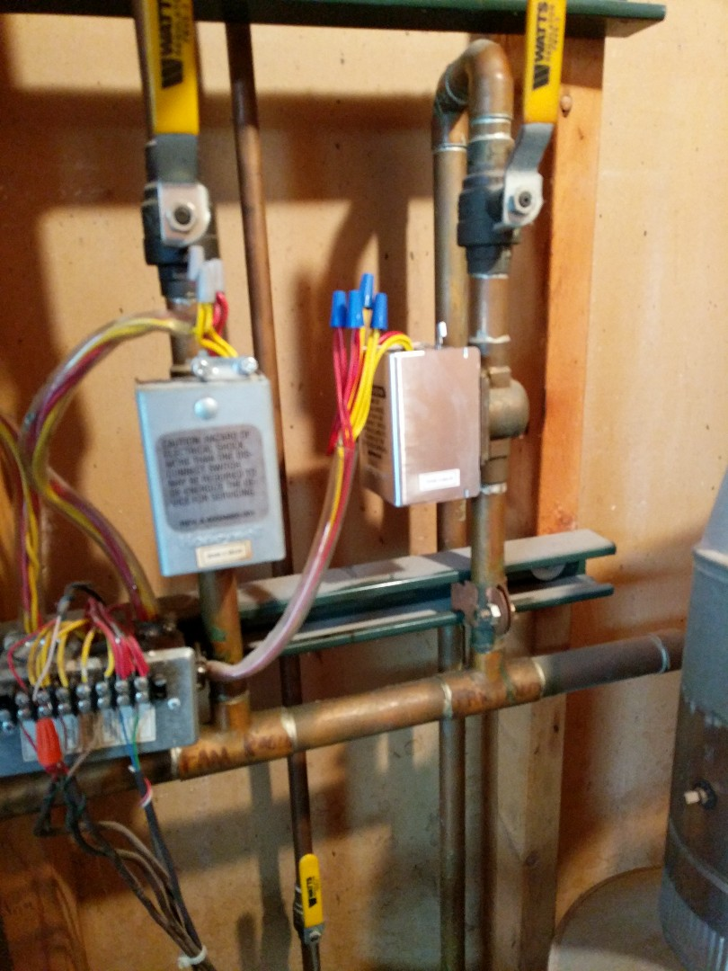 North Street, MI - Replace zone control on boiler.