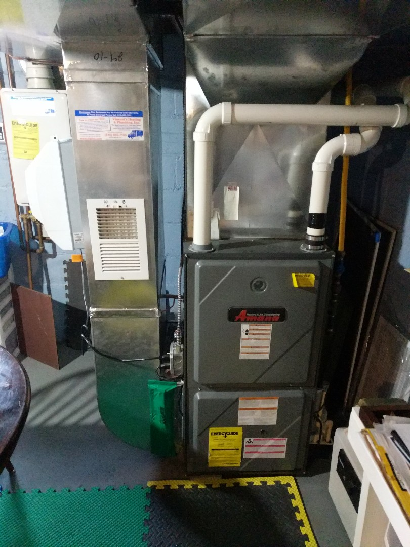 Algonac, MI - Furnace tune up and replace ignition system.