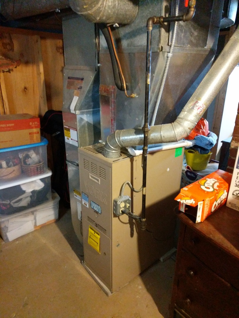 Saint Clair, MI - York furnace tune up, and replace humidifier pad.