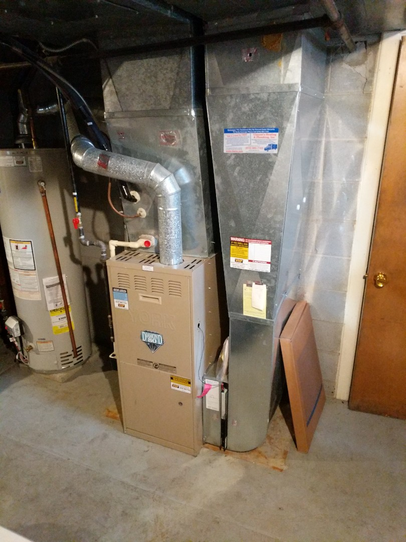 Fort Gratiot Township, MI - York furnace clean and check.