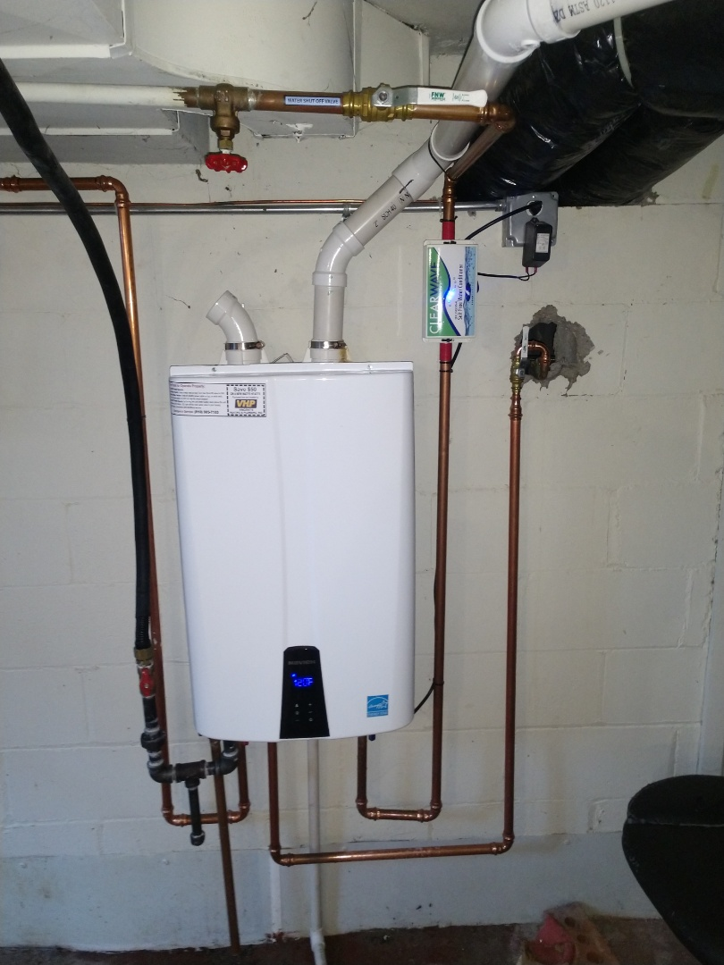 Saint Clair, MI - Navien Tankless water heater maintenance