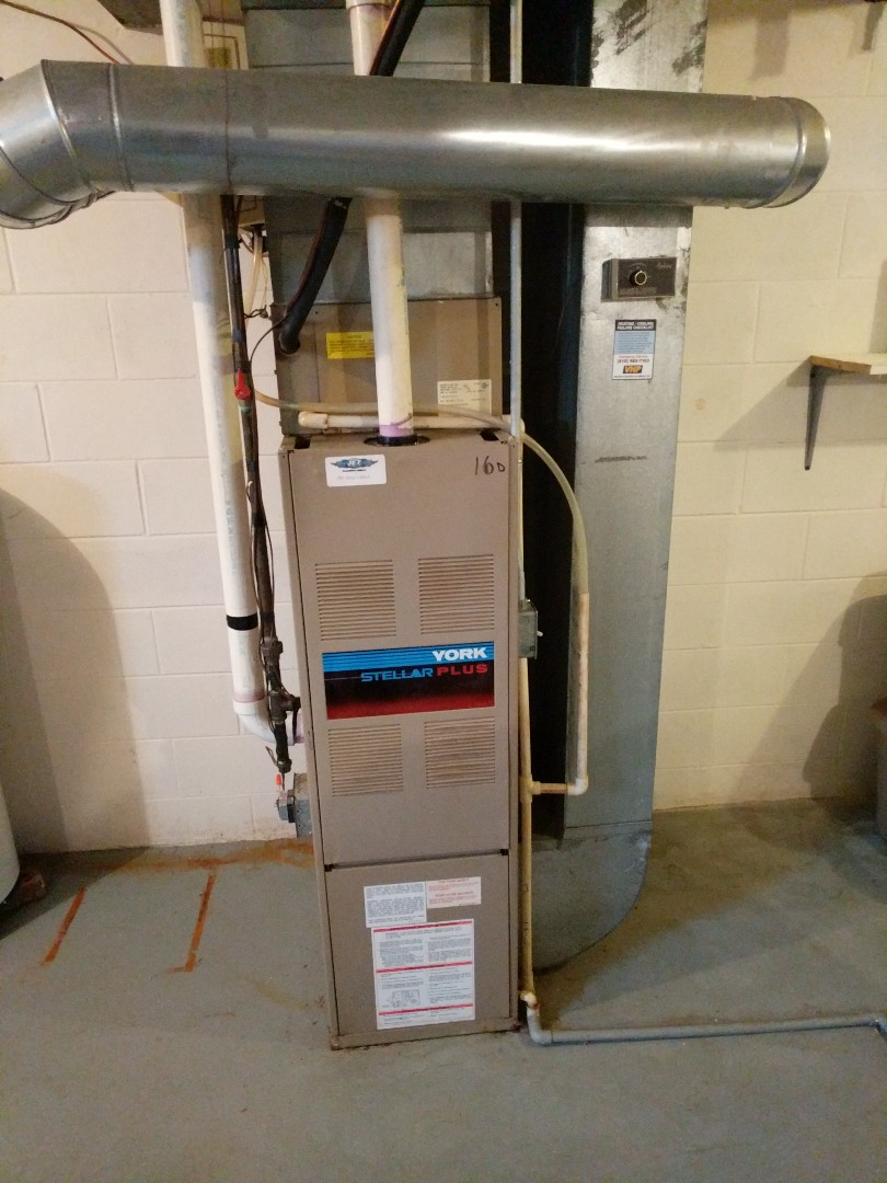 Marysville, MI - York furnace that needs to be replaced.
