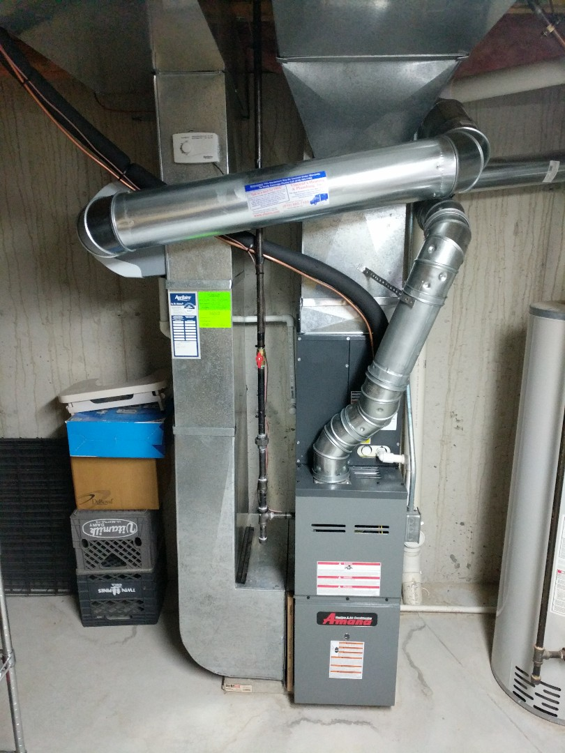 Marysville, MI - Amana furnace tune up with Effiency United rebate.