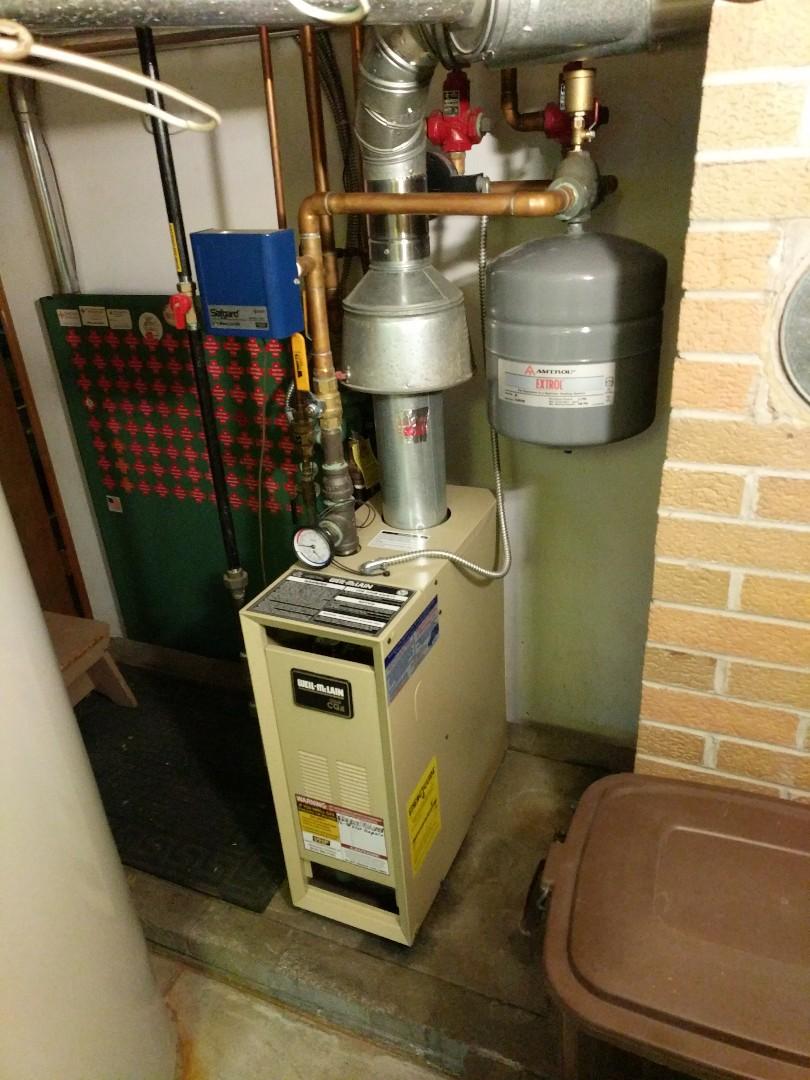 Smiths Creek, MI - Weil McLain boiler repair.