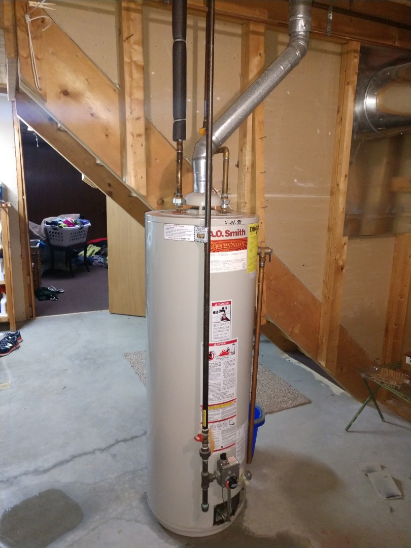 Saint Clair, MI - Water heater failing
