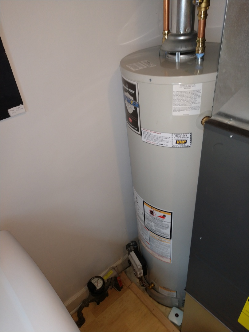 Algonac, MI - Water heater replacement