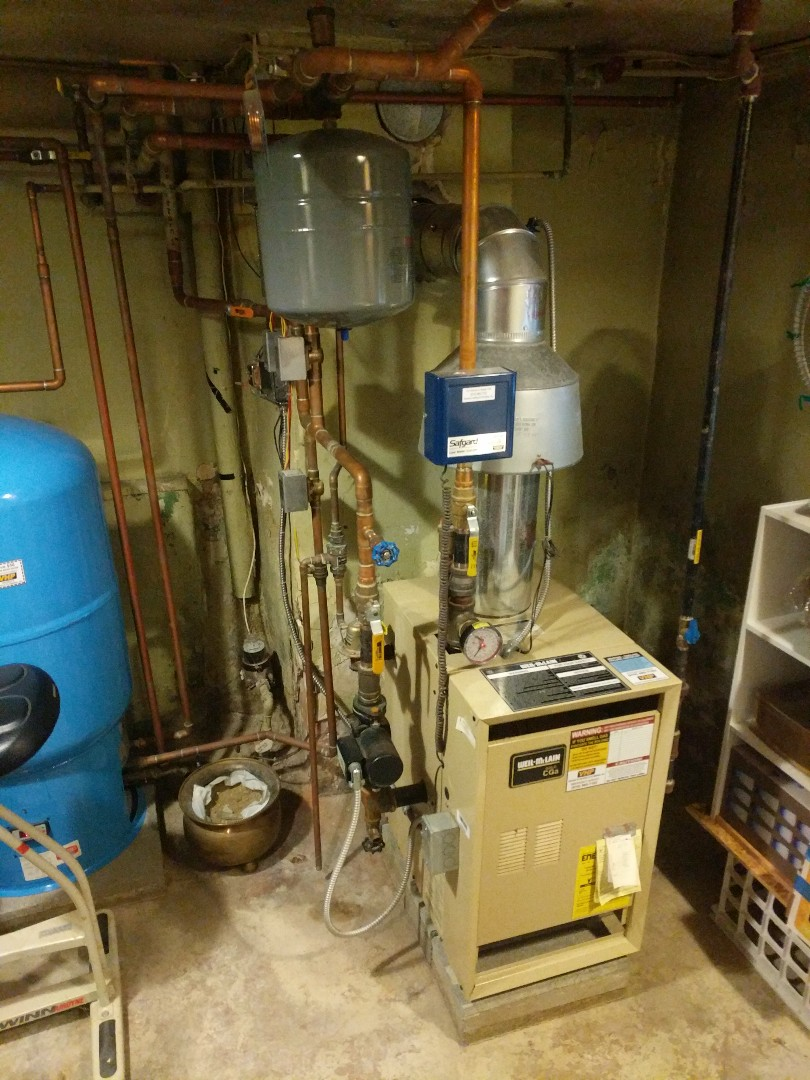 Lexington, MI - Weil McLain boiler repair.