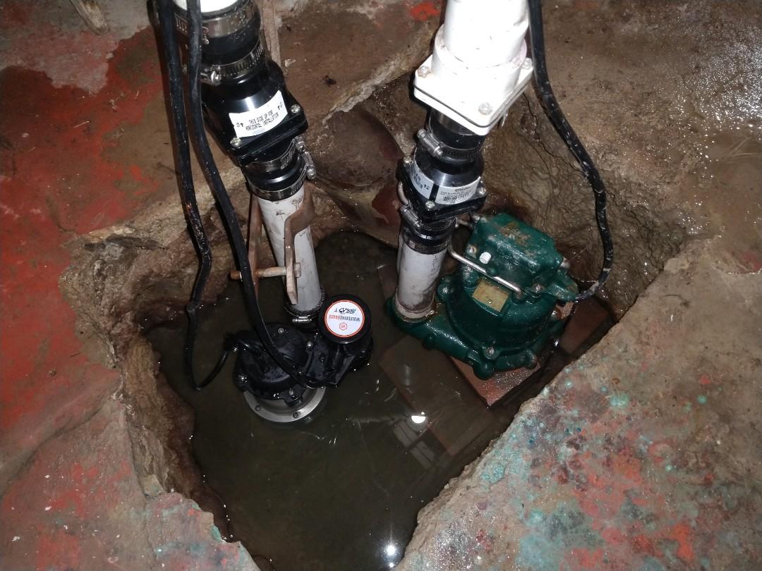 Marine City, MI - Sump pump replacement