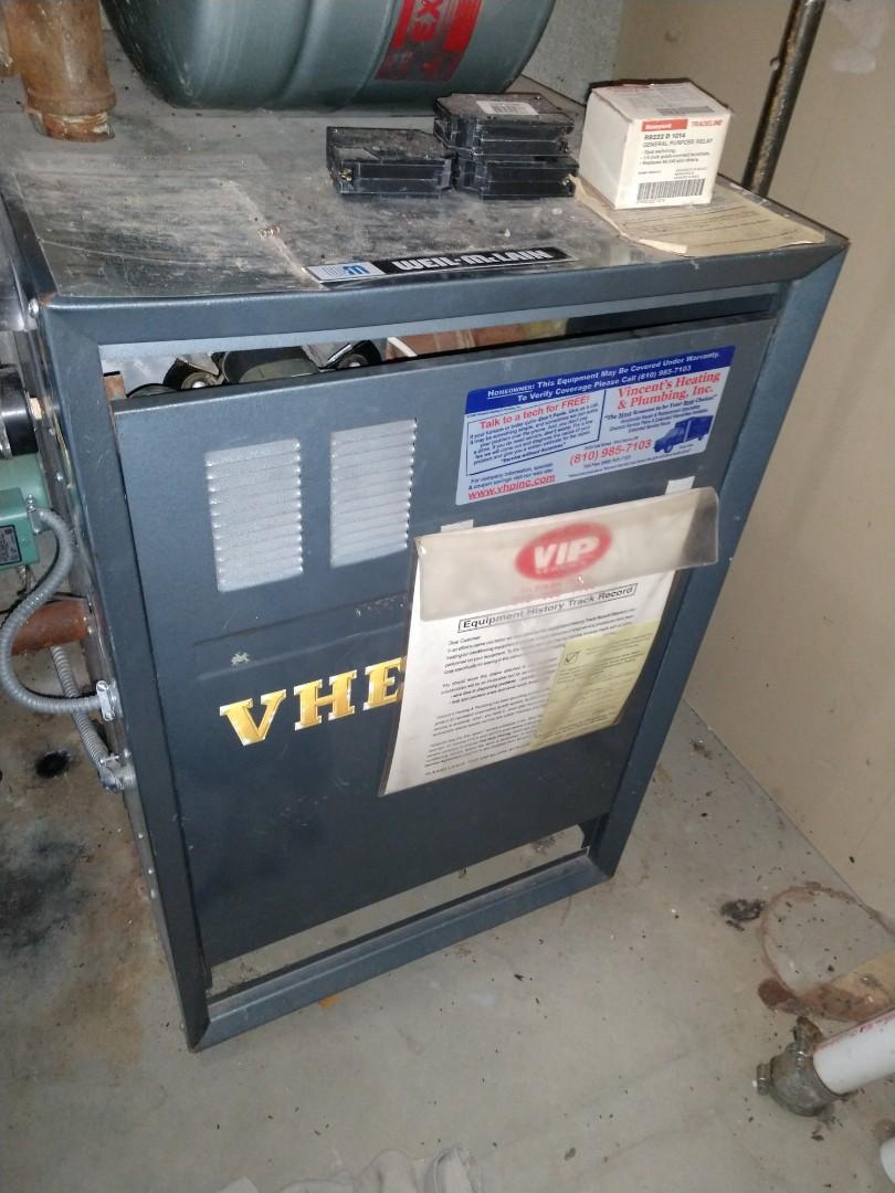 Avoca, MI - Weil McLain boiler repair