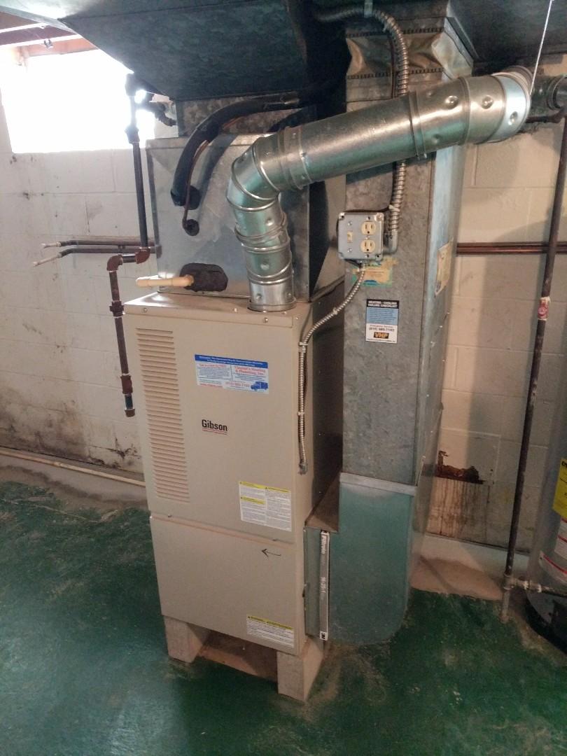 East China, MI - Repair Gibson 80% furnace.