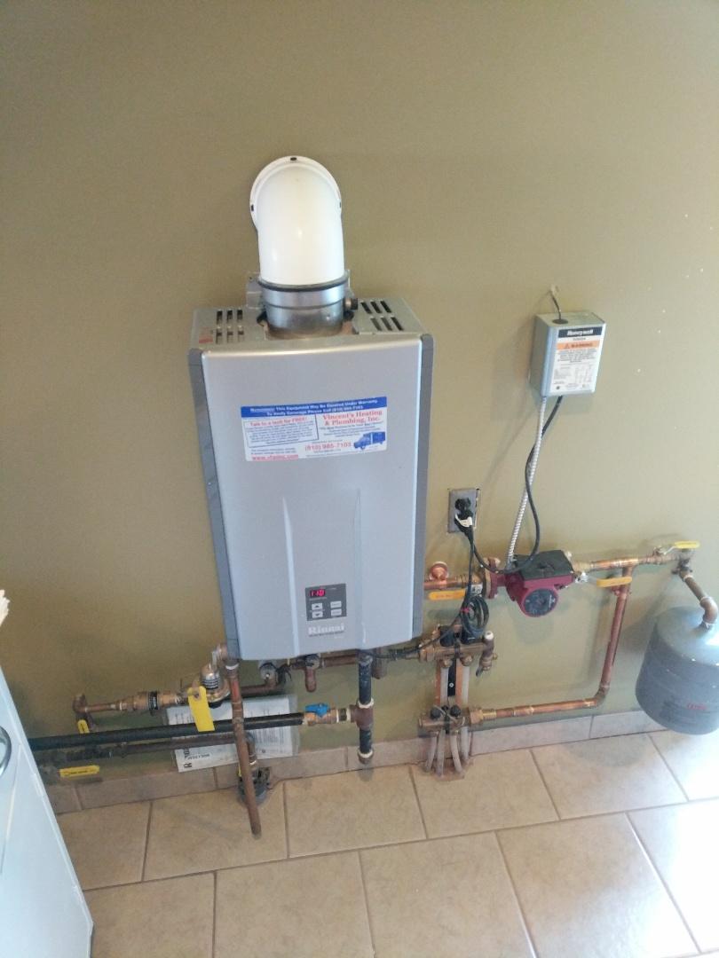Croswell, MI - Repair Rinnai boiler and how water system.