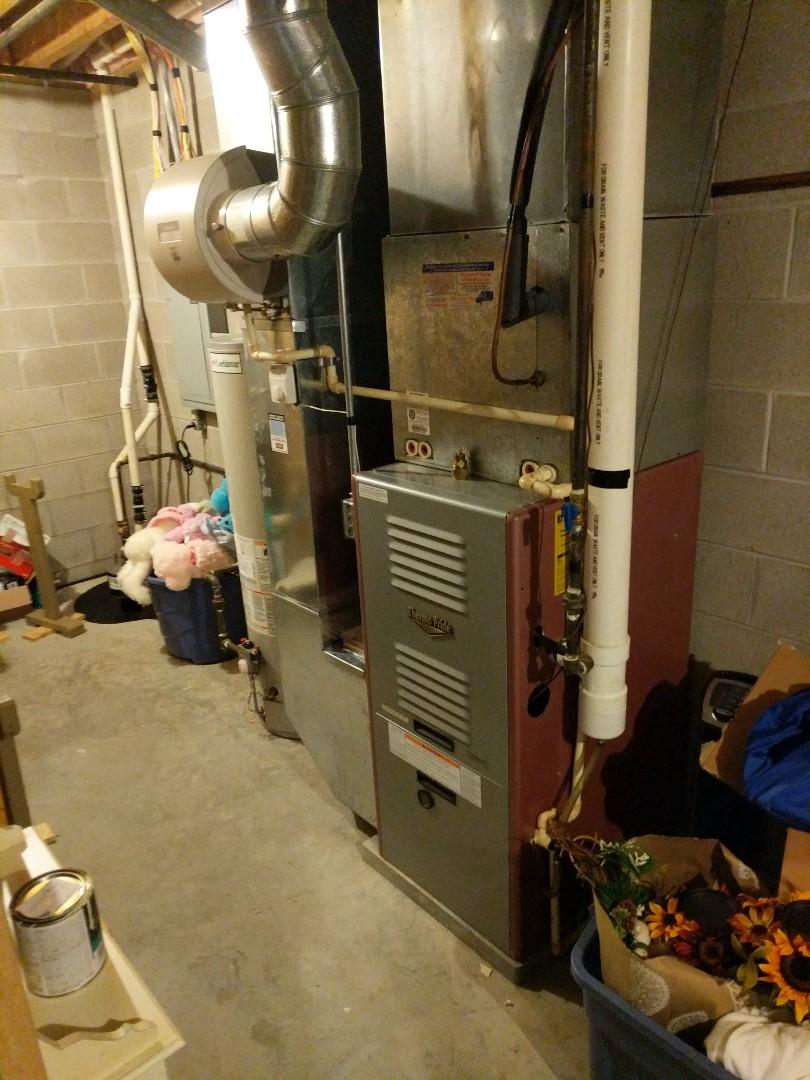 Lexington, MI - Carbon monoxide in home testing.