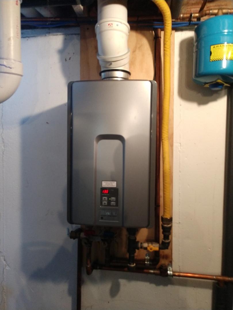 Memphis, MI - Rinnai tankless water heater service