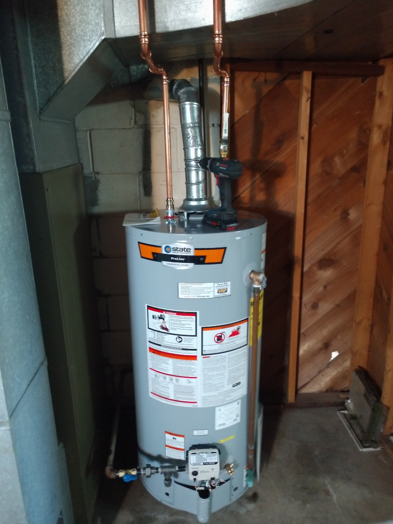 Lakeport, MI - Water heater replacement