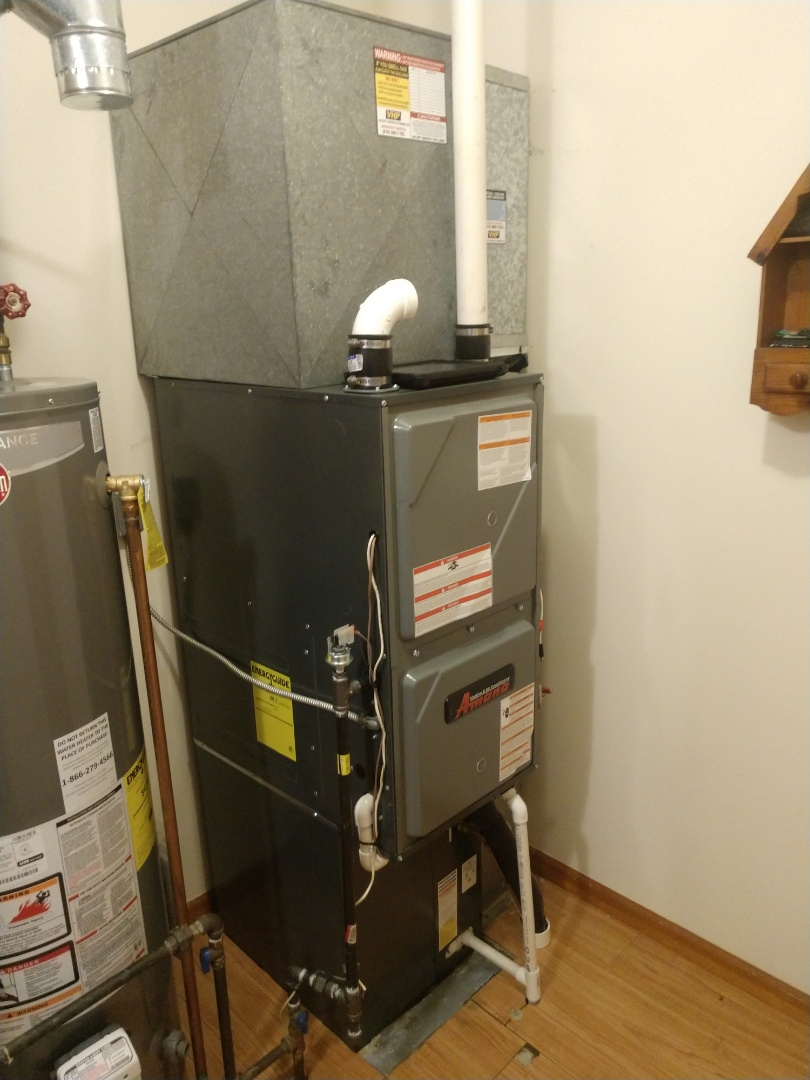Croswell, MI - Furnace and AC install