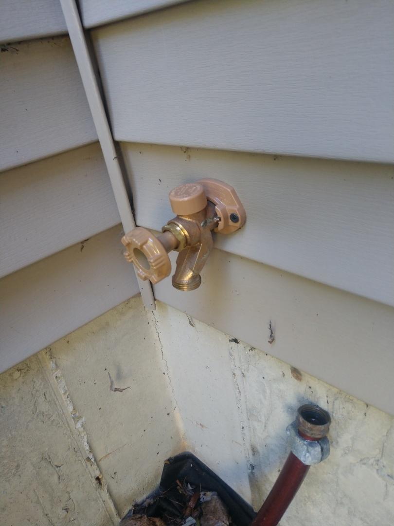 Saint Clair, MI - Outside faucet repair