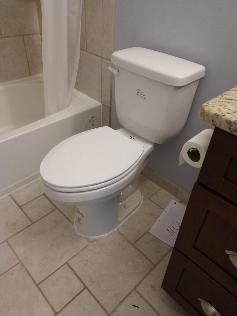 Saint Clair, MI - Toilet replacement