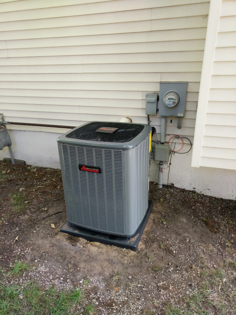 Fort Gratiot Township, MI - New AC final inspection, and check charge.
