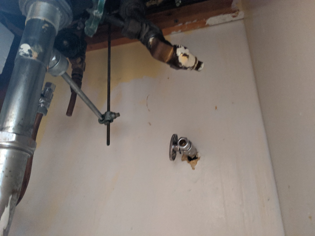 East China, MI - Vanity sink shut off repair