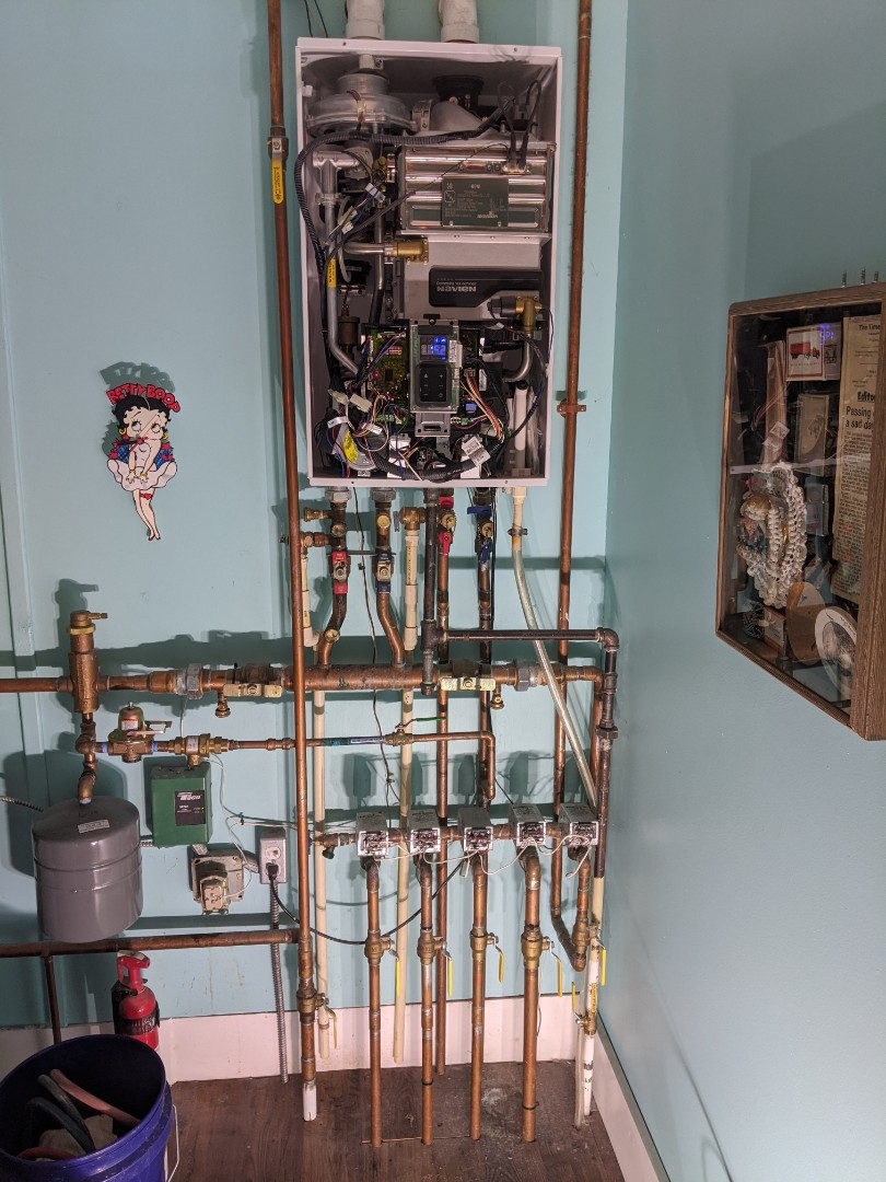 Lexington, MI - Navien combi boiler maintenance