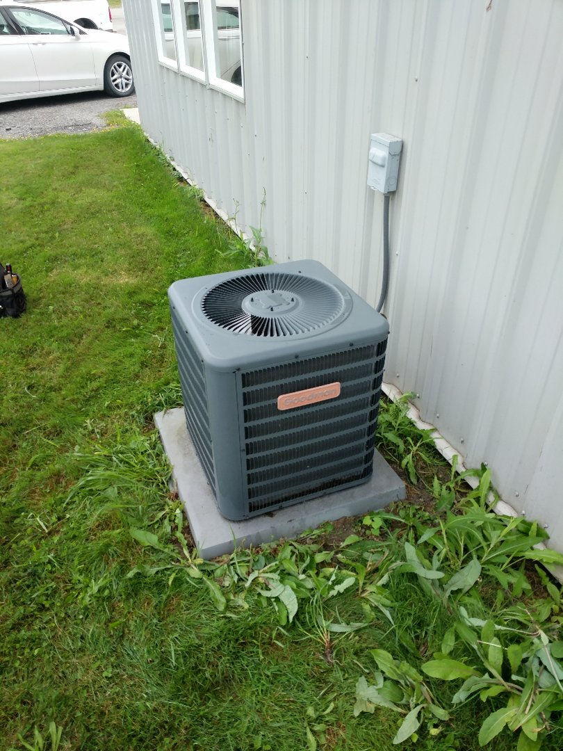 Saint Clair, MI - Goodman AC tune up and filter change.