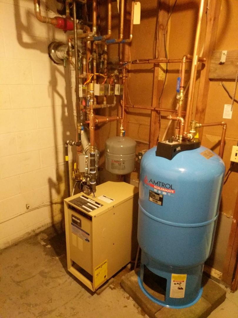 China Township, MI - Weil McLain boiler install final review.