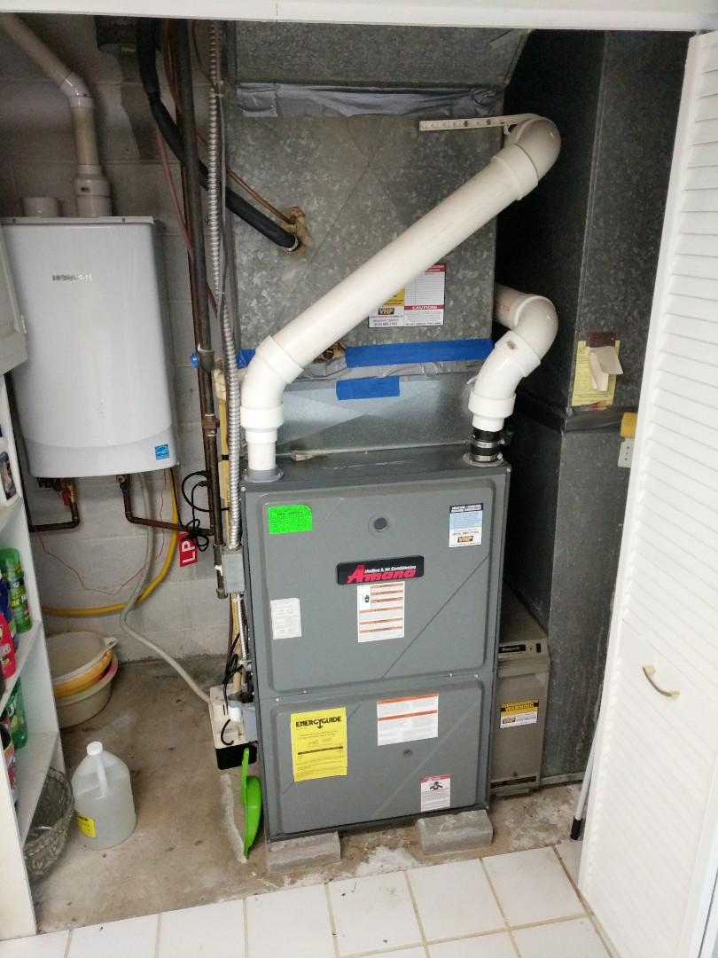 Lexington, MI - Amana furnace tune up.