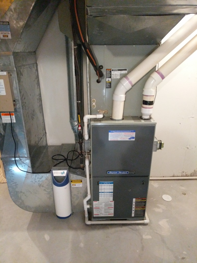 Fort Gratiot Township, MI - Furnace tune up with new programmable thermostat.
