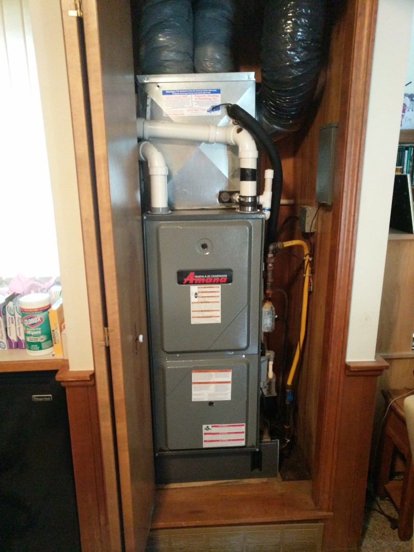 East China, MI - Amana furnace tune up and filter change.