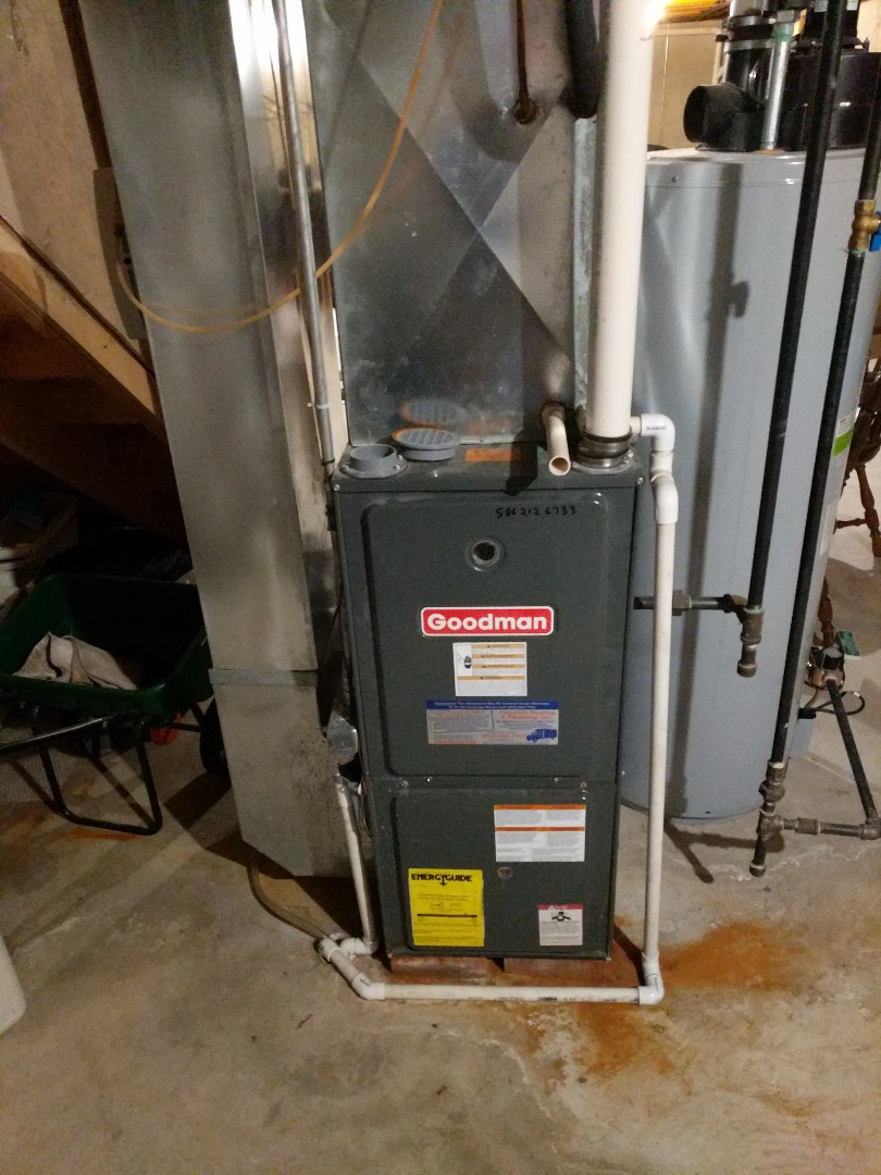 Fort Gratiot Township, MI - Late night furnace repair.