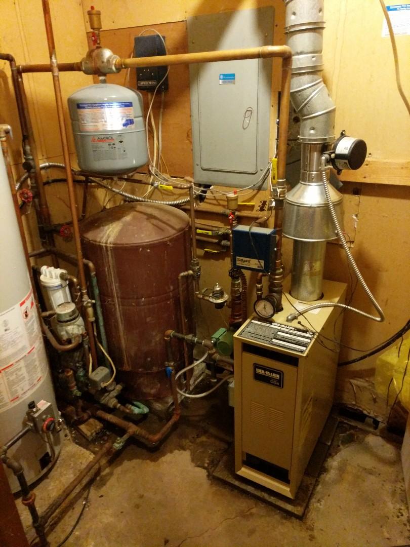North Street, MI - Weil McLain boiler repair.