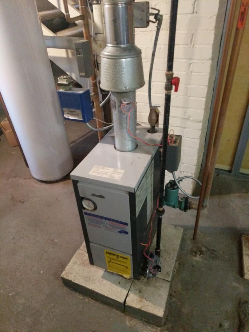 Port Huron, MI - Slant Fin boiler repair.
