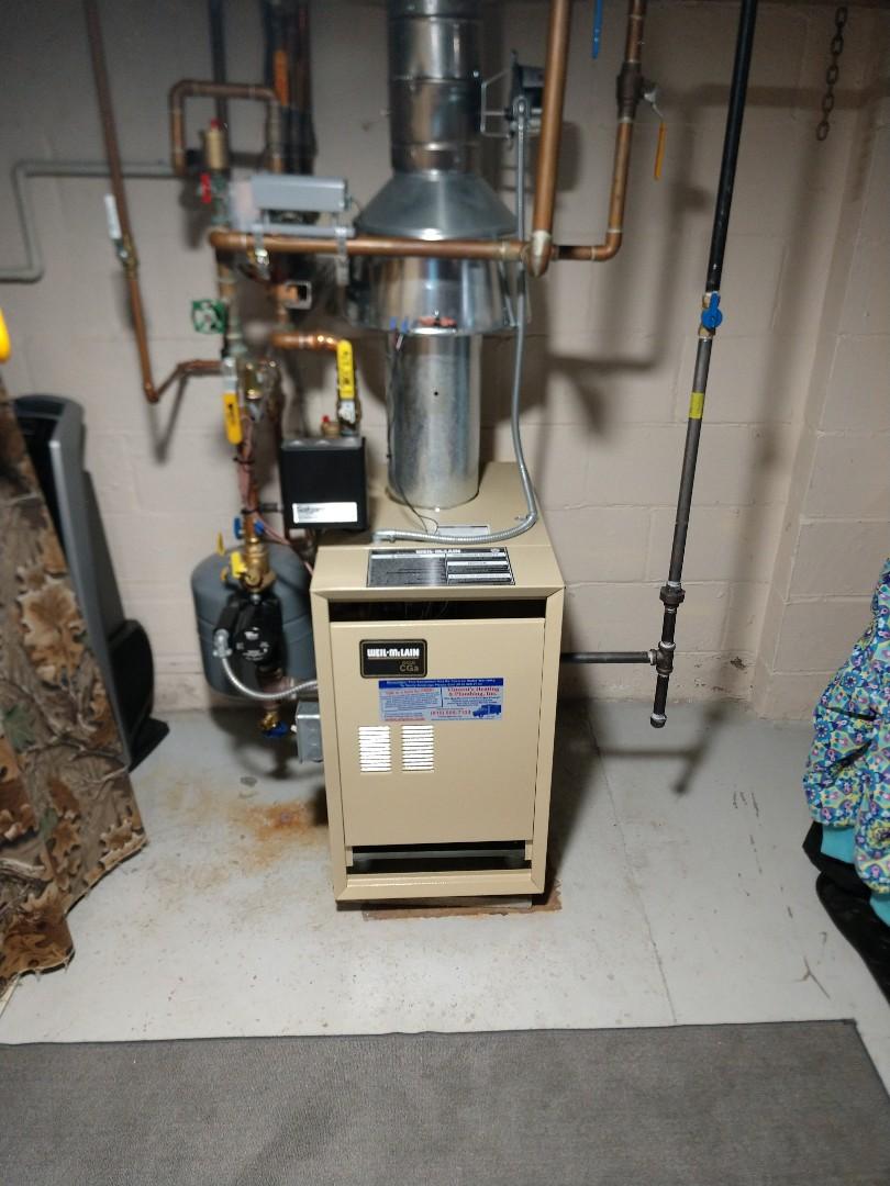 Marysville, MI - Boiler tune up