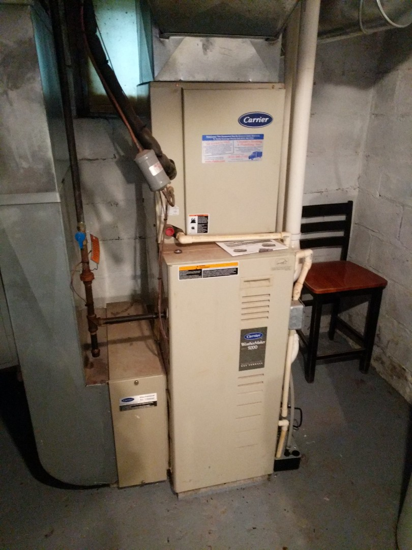 Port Huron, MI - Clean and check on Carrier furnace.