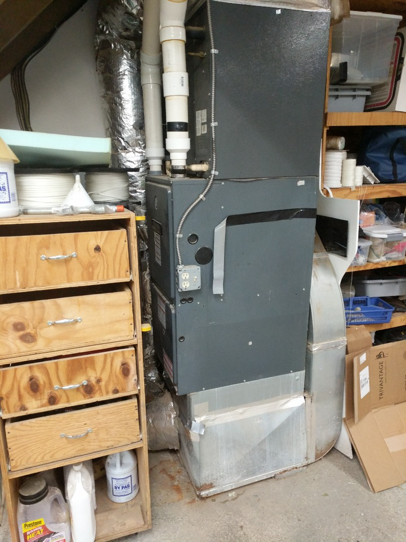 Clay Township, MI - Amana furnace repair.