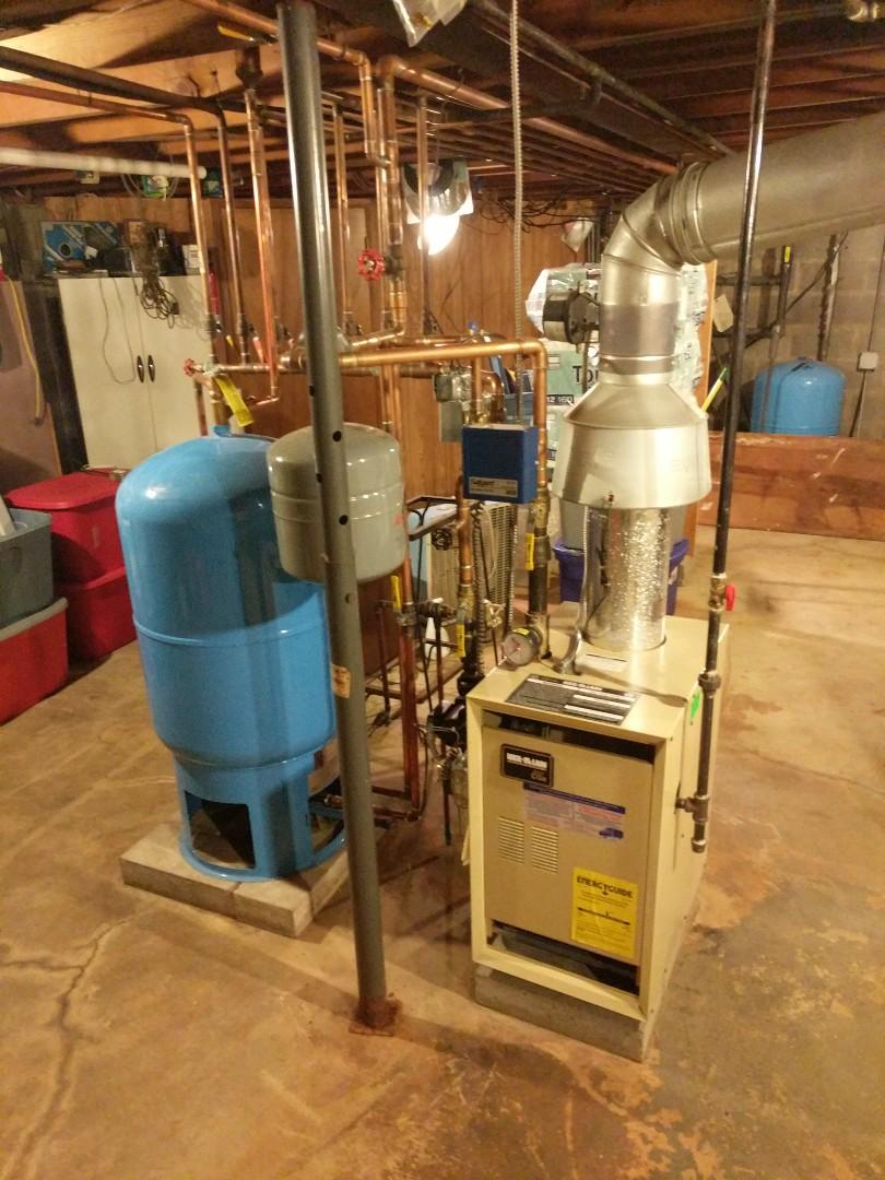 Saint Clair, MI - Weil McLain boiler repair.