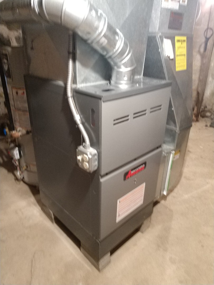 Lexington, MI - Furnace install