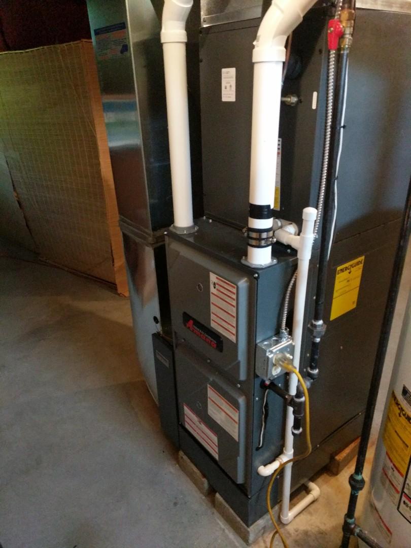 East China, MI - New Amana furnace install