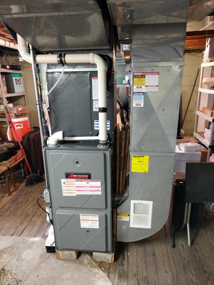 East China, MI - Amana furnace tune up.