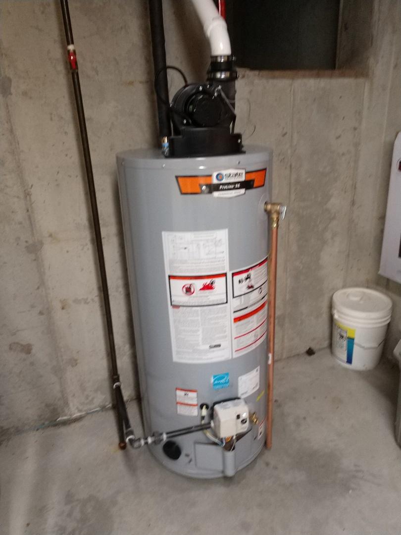 Lexington, MI - Install water heater