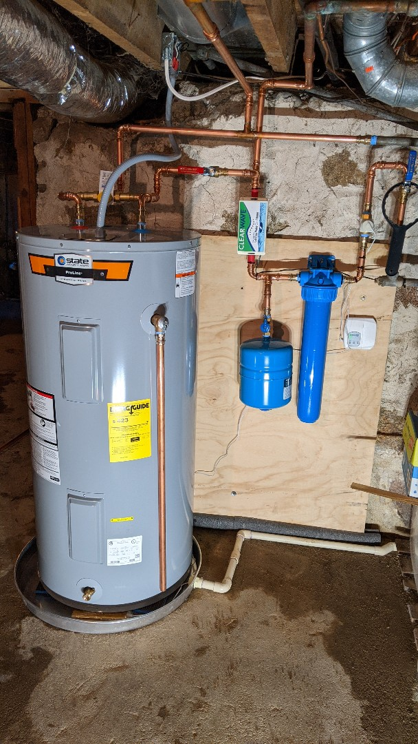 Grant Township, MI - Water heater replacement