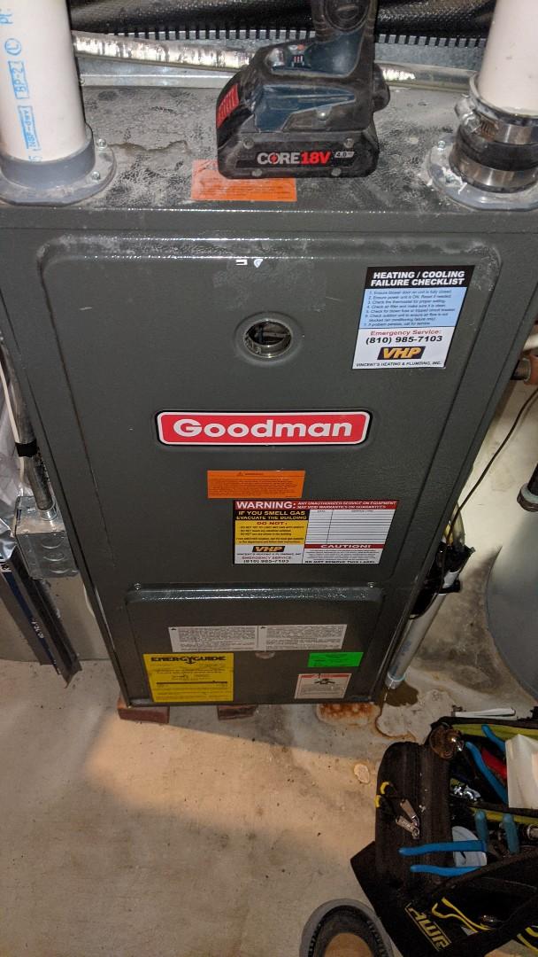 Kimball, MI - Arzell zone amana furnace repair