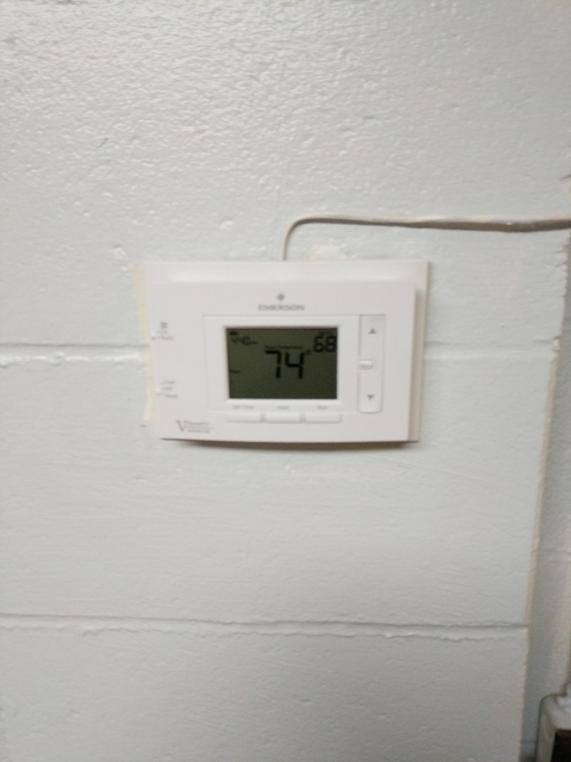 North Street, MI - Replace thermostat.