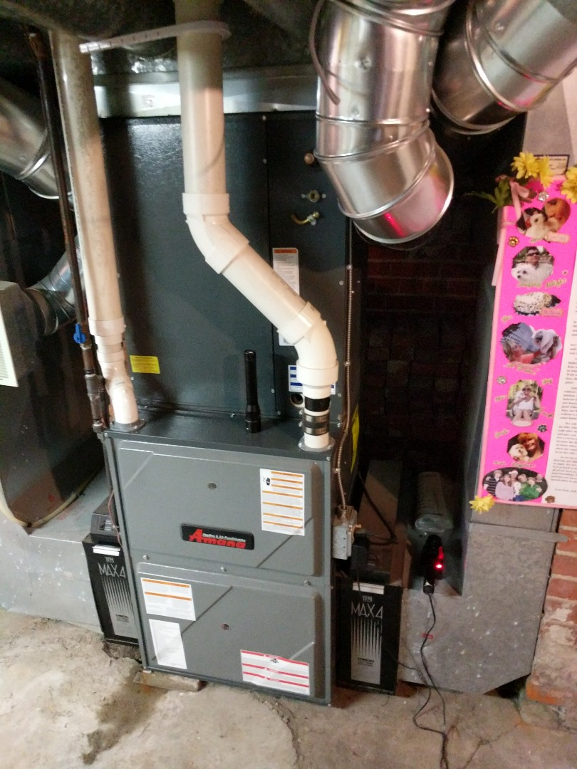 Saint Clair, MI - Amana furnace repair.