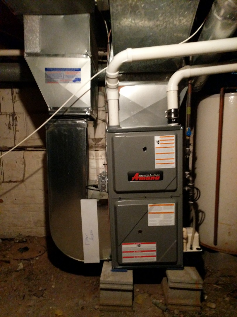 Clay Township, MI - Amana furnace tune up.