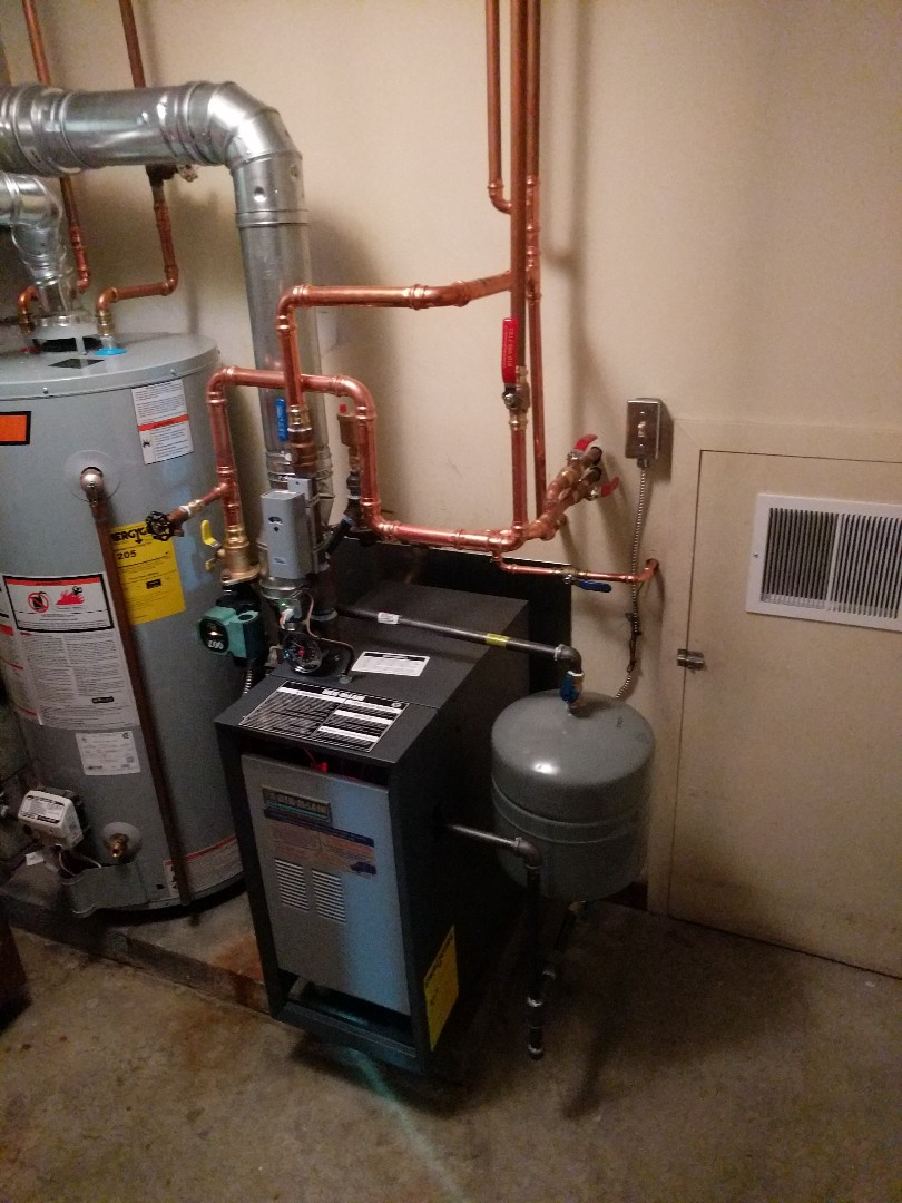 Saint Clair, MI - New Weil Mclain boiler installed.