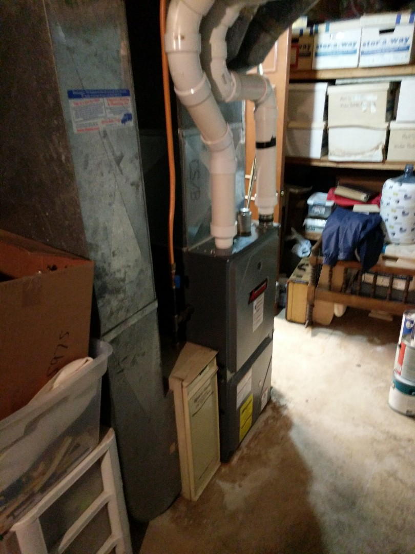 China Township, MI - Amana furnace tune up.