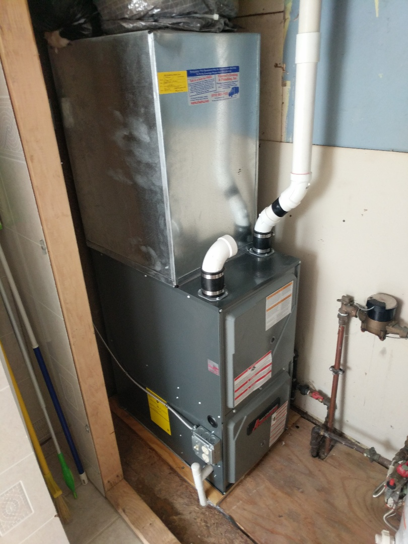 Smiths Creek, MI - Amana furnace annual maintenance.
