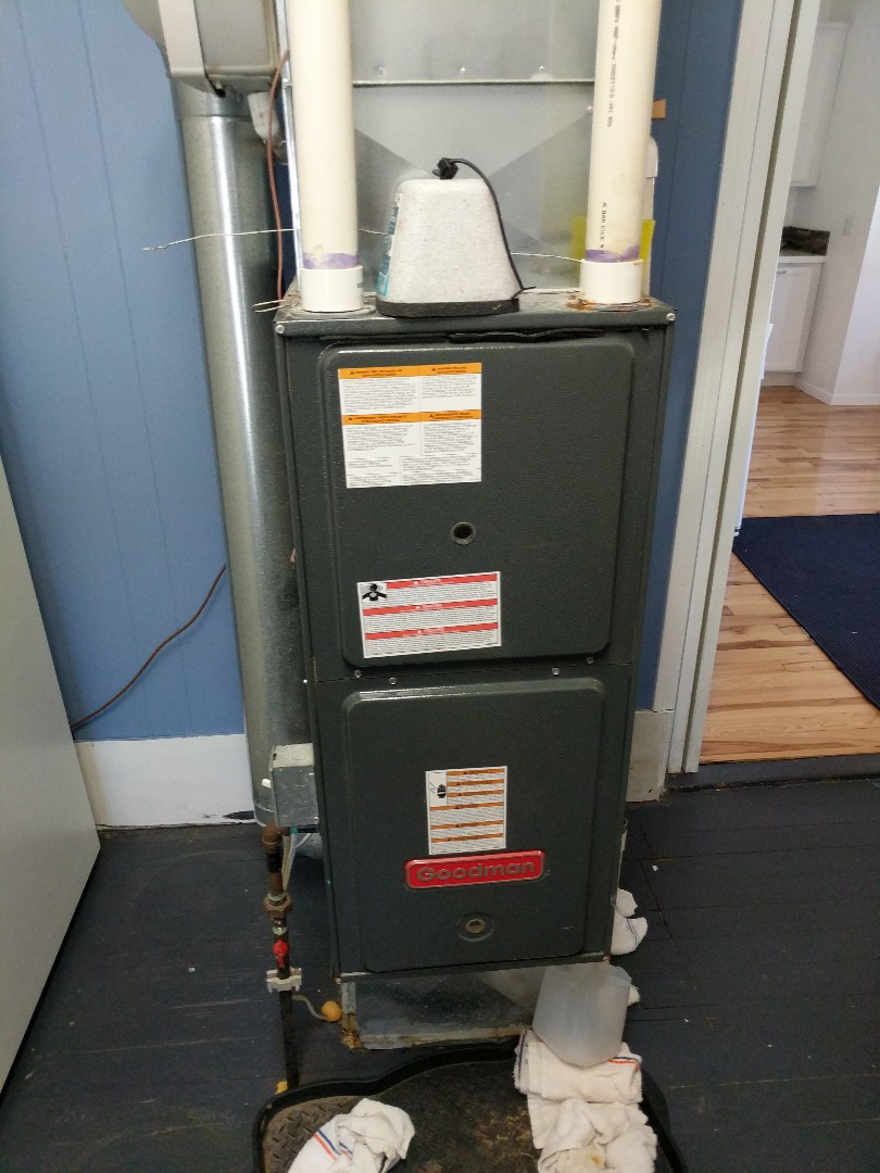 Saint Clair, MI - Goodman furnace in need of replacement.